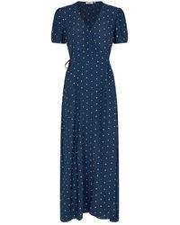 Minimum Abito longuette elastica blazer blu scuro 7456