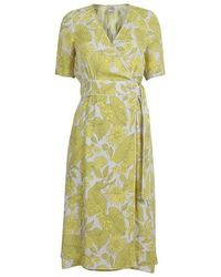Baum und Pferdgarten Adaria Dress Yellow Floral - Giallo