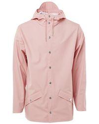 Rains Classic Jacket Coral - Pink