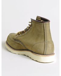 Red Wing 8881 Moc Toe Olive Mohave - Verde