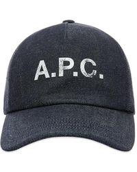 A.P.C. Eden Hat Indigo - Blue