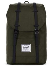 Herschel Supply Co. Forest Night & Black Retreat Rucksack - Grün