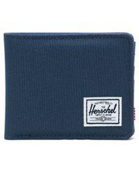Herschel Supply Co. Navy Roy Wallet - Blue