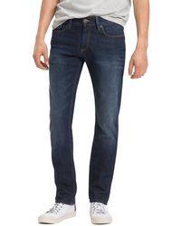 Tommy Hilfiger Stone Washed Slim Fit Jeans - Blau