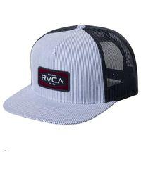 RVCA Cappellino Engine Snapback Azzurro - Blu