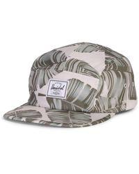 Herschel Supply Co. Silver Birch Palm Glendale Cap - Metallic
