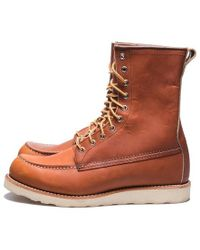 Red Wing Moc Toe 877 Irish Setter Oro Legacy Boots - Brown