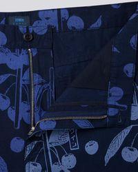 Edwin Indigo Universe Short - Blue