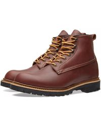 Red Wing 6 Zoll Red Maple Ottertail Leder Ice Cutter Herren Stiefel - Mehrfarbig