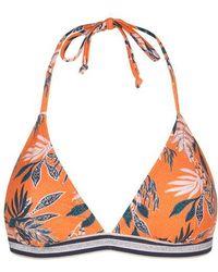 Becksöndergaard Beck Sondergaard Sylvia Orange Bikini Top