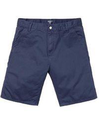 Carhartt Ruck Single Knee Short Blue Stone Washed