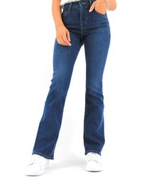 Levi's Pantaloni 725 High Rise Boot Cut Bogota Donna - Blu