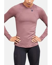 Under Armour Rush Long Sleeve Pink Top