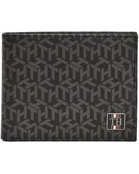 Tommy Hilfiger Monogramme Mini Card Wallet - Multicolore