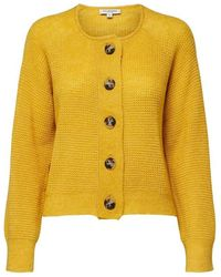 SELECTED Golden Yellow Knitted Cardigan