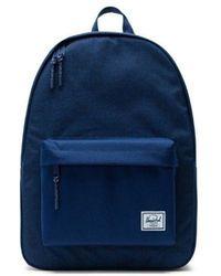 Herschel Supply Co. Mittelalterliche blaue Crosshatch-Classic-Tasche