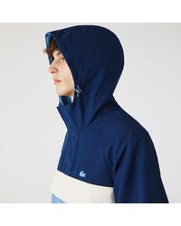 Lacoste Hommes Sweatjacke zipjacke Veste Hoodie Navy Bleu Nouveau Prix Recommandé 129 €
