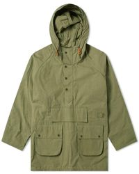 Barbour X Engineered Garments Washed Highland Parka - Green