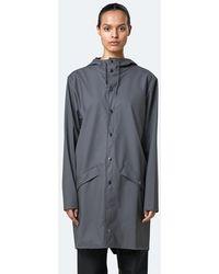 Rains Charcoal Raincoat 1202 - Grey