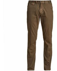 Barbour Neuston Twill Trousers Stone - Brown