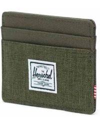 Herschel Supply Co. Cartera Charlie Oliven - Vert