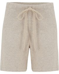 Velvet By Graham & Spencer Velvet By Graham & Spencer Janey Shorts In Oatmeal - Natural