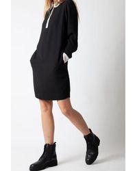 Essentiel Antwerp Essentiel Beaded Collar Dress - Black