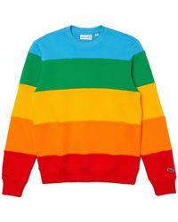 Lacoste Https://www.trouva.com/it/products/-polaroid-colour-striped-fleece-sweatshirt-multicolour - Multicolore