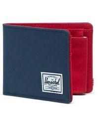 Herschel Supply Co. Portefeuille Roy Coin Bleu Marine - Rouge