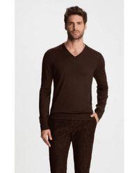 John Varvatos Https://www.trouva.com/it/products/john-varvatos-washable-wool-sweater - Marrone