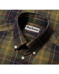 Barbour Camisa a medida verde oliva 7 - Multicolor