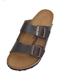 Birkenstock – arizona – dunkele birko-flor sandalen - Braun