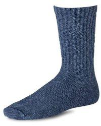 Red Wing Cotton Ragg Socks Navy Blue
