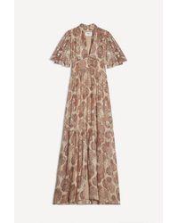 Ba&sh Ocultar vestido en Vieuxrose - Multicolor