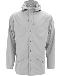 Rains Stone Jacket - Gray