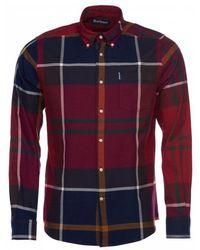 Barbour Dunoon Tartan Tailored Shirt - Blue