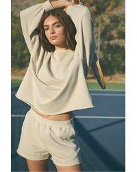 Rails - Pantalones cortos con dobladillo sin rematar en piedra pómez de Jane - Lyst
