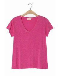 American Vintage Jacksonville Jac 51 Camiseta Pinky Vintage - Rosa