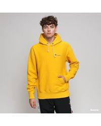 Champion Old Reverse Weave Hooded Sweatshirt 212967 Ys001 - Yellow
