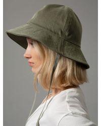 Nudie Jeans Solveig Bucket Hat Verde