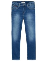 Tommy Hilfiger Https://www.trouva.com/it/products/tommy-hilfiger-ryan-relaxed-straight-jeans-wilson-mid-blue-stretch