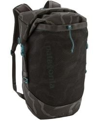 Patagonia Planing Roll Top Pack 35 L Tiger Tracks Camo Ink Black - Nero