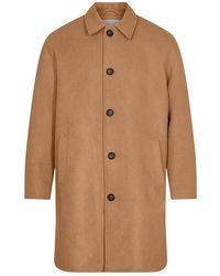 Minimum Https://www.trouva.com/it/products/-tobacco-brown-assans-9033-outerwear-coat - Marrone