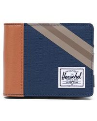 Herschel Supply Co. Herschel Roy Coin Wallet Navy Synthetic Leather - Blue