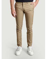 Carhartt Pantaloni chino Sid - Neutro