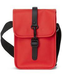 Rains Flight Bag In Red