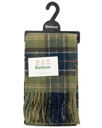 Barbour Bufanda de lana de cordero Classic Tartan Classic - Multicolor