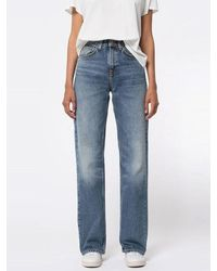 Nudie Jeans Clean Eileen Jeans Old Gold - Blue