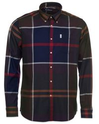 Barbour Dunoon Shirt Classic - Blue