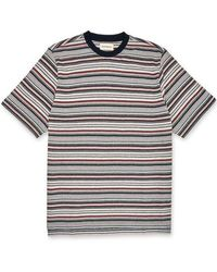Oliver Spencer Box T Shirt In Sanders Red - Multicolour